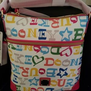 Cooney and Bourke doodle cotton cross body